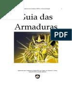 Cavaleiros Do Zodíaco - Guia Armaduras