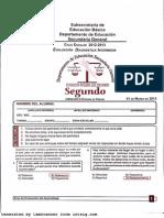 Examen EDI - Ciencias II