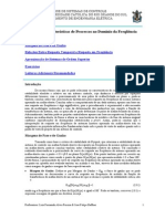 Margem de Fase e Ganho - Características de Processos No Domínio Da Freqüência