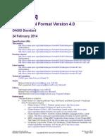 Odata Json Format v4.0 Os