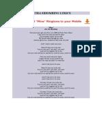 Petra Sihombing Lyrics Mine