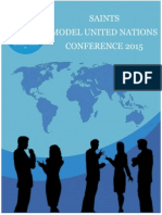 Model United Nations Delegate Handbook