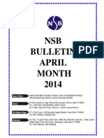 Nsb Bulletin April 2014
