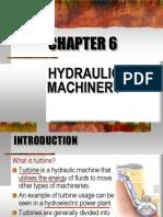 Chapter 6 - Hydraulic Machinery