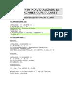 Formato Ejemplo de Adecuacion Curricular a.c.i.