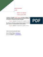 Criterii Evaluare Dreptul Afacerilor 2014 2015