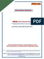 Information Booklet FTRE 2013 Fresh