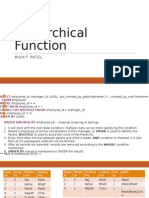 Hierarchical Function