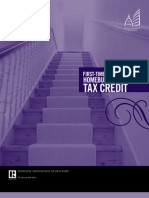 First-time Homebuyer Tax Credit 2009