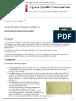 Agence Qualité Construction _ Désordres Des Enduits Monocouches