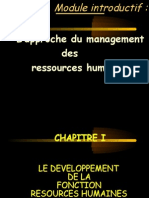 L'approche du management des ressources humaines