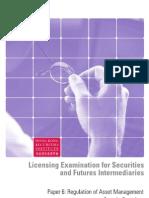Paper 6 - Regulation of Asset Management