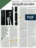 1987 Ozouf_Quand l'individu se sufiit à lui-même_Nouvel obs