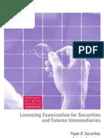 Paper 8 - Securities