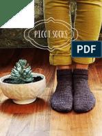 Picot Socks January 2014