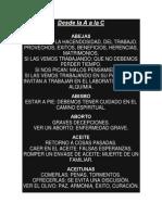 Diccionario Sueños