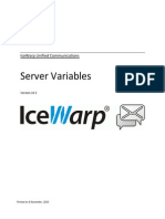 Server Variables