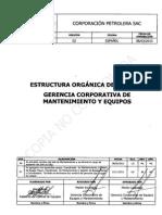 (Estructuras Orgánicas MTO)