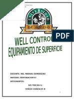 Informe de Well Control