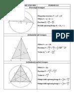 Formule Iz Planimetrije