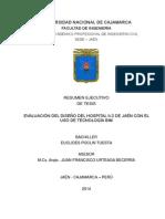 RESUMEN EJECUTIVO TESIS EVAL. DISEÑO HOSPITAL II-2 JAEN CON TECNOLOGIA BIM.pdf