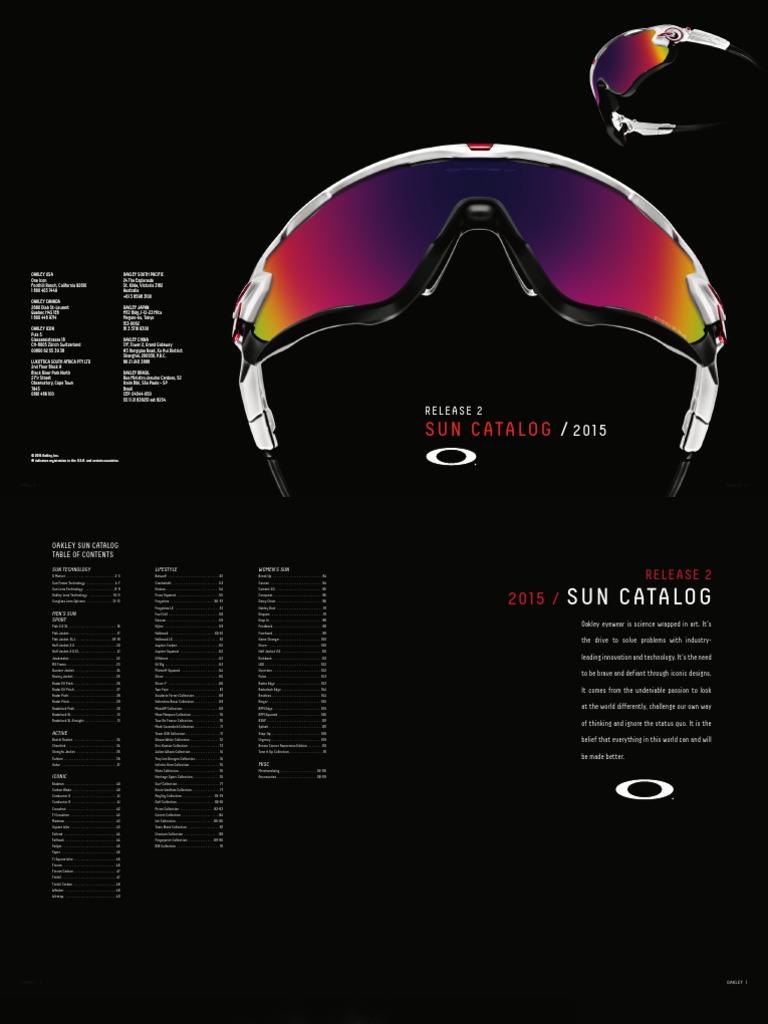 445fc324a86d OAKLEY 2015 Eyewear Catalog