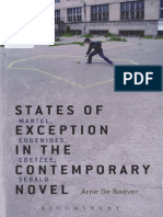 De Boever - State of Exception in the Contemporary Novel