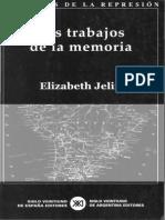 Jelin LuchasPolíticasMemoria