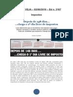 bgpm039revista veja matéria sobre impostos no brasil ed 2167 de 02 de junho de 2010