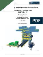 Instrucciones de Operación y Montaje SMCP 63x75