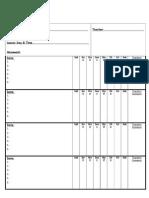 Practice Sheet Weekly