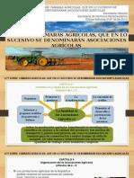 Ley Sobre Camaras Agrícolas