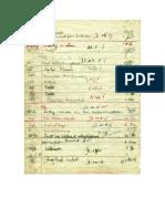 John Lennon 1955 Detention Sheet