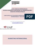 Factores Condicionantes Para La Internacionalización de Productos Análisis de La Competitividad