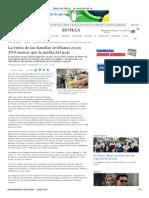 Diario de Sevilla - La Renta de Las Familias Sevillanas Es Un 20% Menor Que La Media..