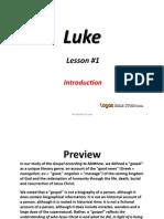 1. Introduction to Luke