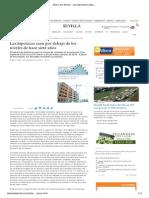 Diario de Sevilla - Las Hipotecas Caen Por Debajo de Los Niveles de Hace Siete Años