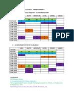 Agenda de Acompanamiento I 2015F