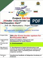 Dl. Gheorghe Marmureanu - Project DACEA