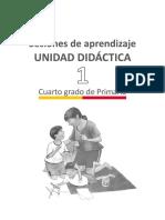 Documentos Primaria Sesiones Matematica Cuartogrado Orientaciones Para La Planificacion Unidad01 4grado