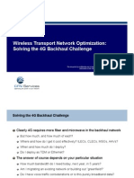 Solve the Wireless Backhaul Challenge