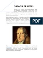 Biografia de Hegel
