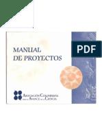 . Manual de Proyectos
