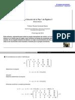 PEP 1 - Álgebra II (2014)