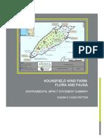 Galloo Island FEIS Wind farm impacts on flora and fauna