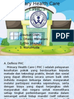 Primary Health Care ( PHC )