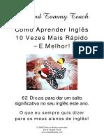 Como Aprender Inglês 10 Vezes Mais Rápido