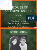Theories of Assertive Tactics