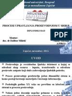Procesi Upravljanja Proizvodnjom u Srbiji (Nikola Mitrović a-558-11)(1)