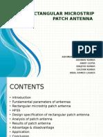 Rectangular Microstrip Patch Antenna